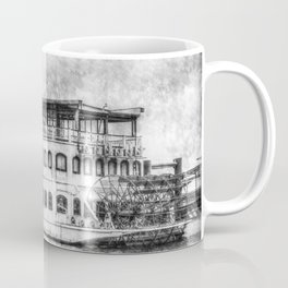 New Orleans Paddle Steamer Vintage Coffee Mug