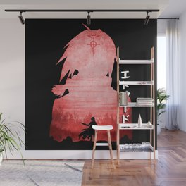 Minimalist Silhouette Edward Wall Mural