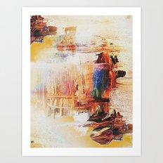 A sense of antiquity Abstract Art Print