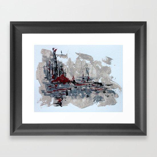 Future Daze [v2] Framed Art Print