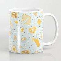 breakfast Mugs featuring Breakfast by Ambi Sweetie Pie