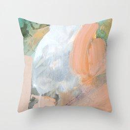 Pink Chaos Throw Pillow