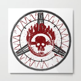 Fury Road (light background) Metal Print