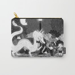 Meeting The Dragon Carry-All Pouch