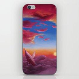 ocean clouds iPhone Skin