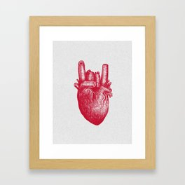Party heart Framed Art Print