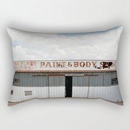 Body Shop Rectangular Pillow