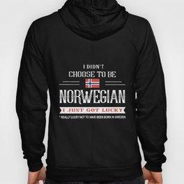 I didnt choose to be norwegian Hoody
