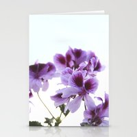 leah flores Stationery Cards featuring Flores by angelazf