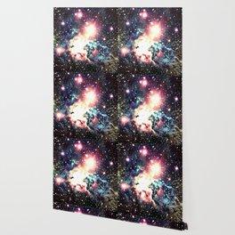 Fox Fur Nebula : Deep Pastels Galaxy Wallpaper
