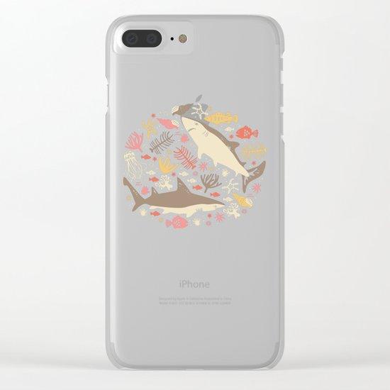 Oceanica Clear iPhone Case