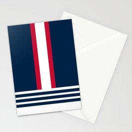 New England Nautical Blue Stationery Cards