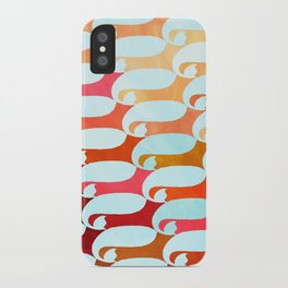 Blue Whale & Red Fox iPhone Case