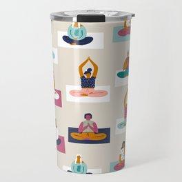 Morning yoga Travel Mug