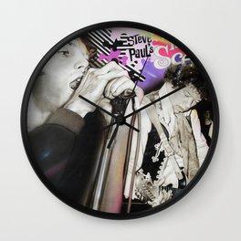 'The Scene' Wall Clock