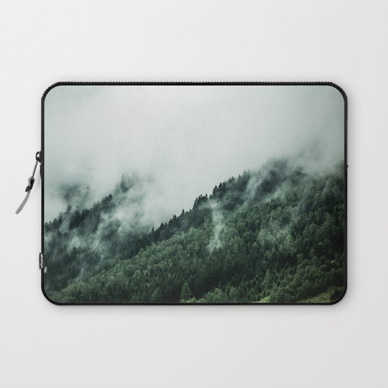 Foggy Woods 1 Laptop Sleeve