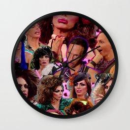 alyssa edwards Wall Clock