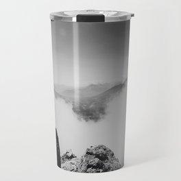 Innsbruck rocks and clouds Travel Mug