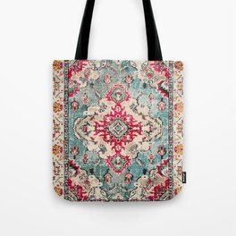 Heritage Farmhouse Style Traditional Oriental Moroccan Artwork Tote Bag