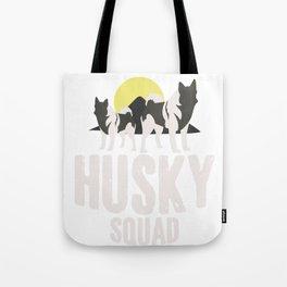 Husky Squad Tote Bag