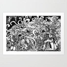 Shub Niggurath Art Print