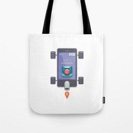 """Creative Drive - """"UI Designer Car"""" Tote Bag"""
