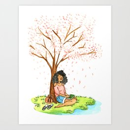 Quiet time Art Print