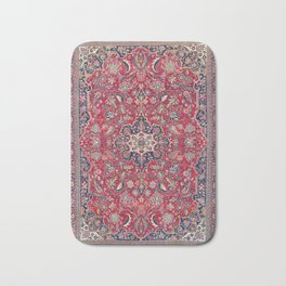 Bijar Kurdish Northwest Persian Rug Print Bath Mat