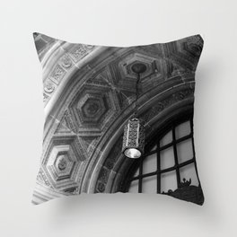 8 Cathedral Place Door Arch Throw Pillow
