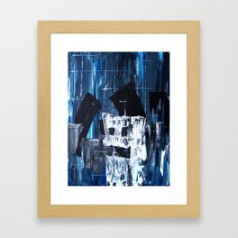 First day in the big city Framed Art Print