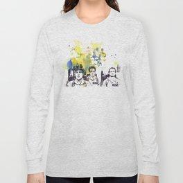 Ghostbusters Peter Venkman, Egon Spengler, Raymond Stantz Long Sleeve T-shirt
