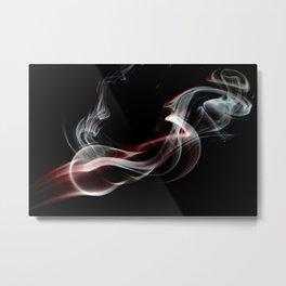 SMOKE HIGH Metal Print