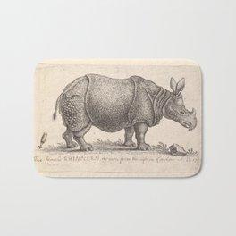 Vintage Rhino Bath Mat