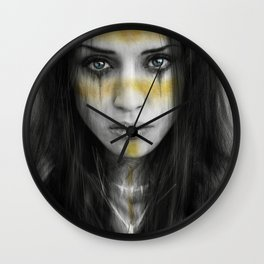 Sorrowful Fortune Wall Clock