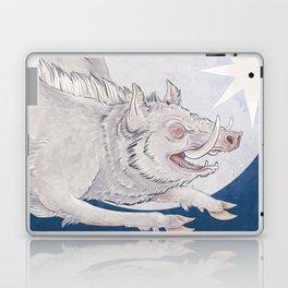 White boar Laptop & iPad Skin