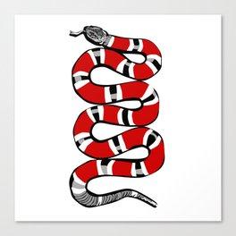 Snakey Canvas Print