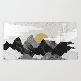 Sun rise Beach Towel