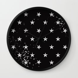 Grunge Spangled Banner Wall Clock