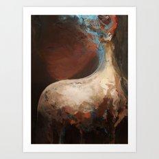 membrain Art Print
