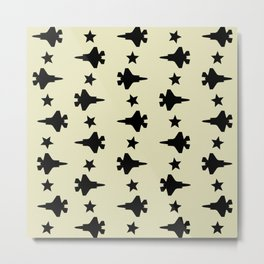 F-35 Lightning II Pattern Metal Print
