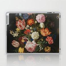 Ambrosius Bosschaerts the Elder - Bouquet of Flowers in a Stone Niche Laptop & iPad Skin