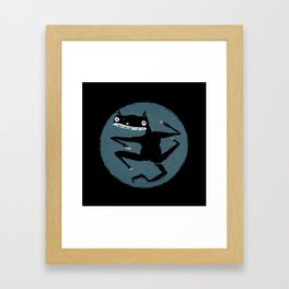 A Cat Framed Art Print