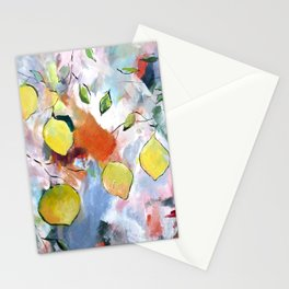 When Life Gives You Lemons, Paint Them Stationery Cards