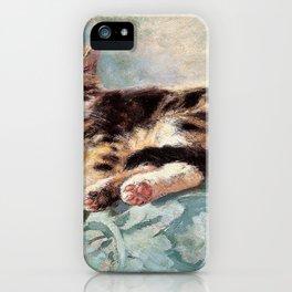 Cat Nap - Digital Remastered Edition iPhone Case