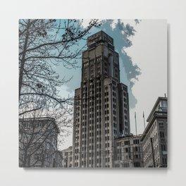 Boerentoren Antwerp Metal Print