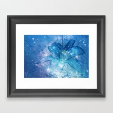 Deep dream Framed Art Print