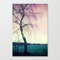 new year Canvas Prints featuring new year by Claudia Drossert