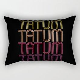 Tatum Name Gift Personalized First Name Rectangular Pillow