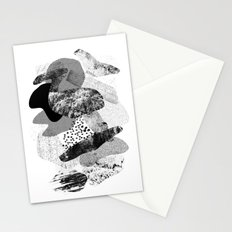 rock balancing Stationery Cards
