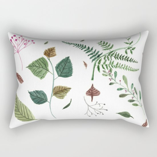 Plants Rectangular Pillow